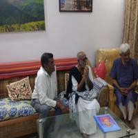 Visit of Sant Shree Morari Bapu to IKDRC-ITS - 4-1